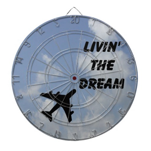 Livin' the Dream -dartboard Dartboard