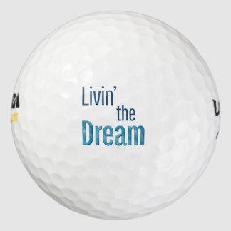 Livin' the Dream Golf Balls