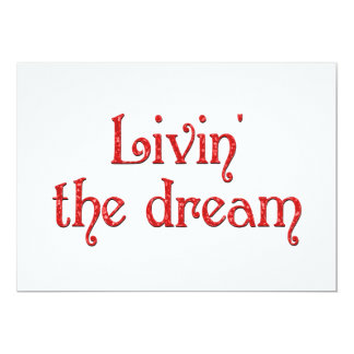 Livin' the Dream Announcements