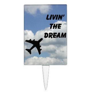 Livin' the Dream rectangle pick