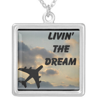 Livin' The Dream Silver Plated Necklace