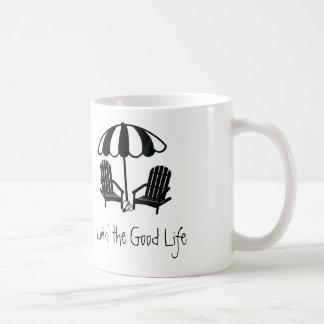 Livin' the Good Life, Beach Chairs Mug