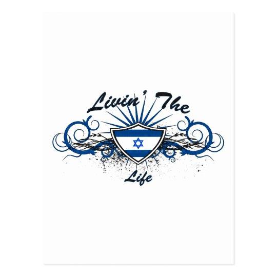 Livin The Isreal Life Postcard