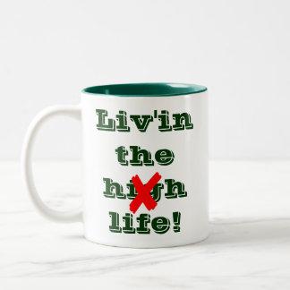 Liv'in The Life AA NA Coffee Mug