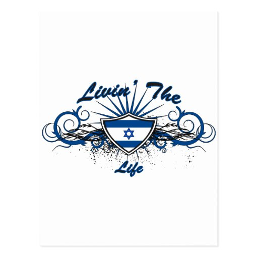 Livin The Life Postcard