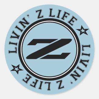 Livin Z Life Stickers