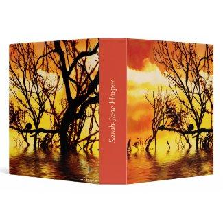 Living Art : Tangled Silhouette Album Folder binder