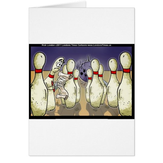 Living Bowling Pin Will Funny Gifts Tees Cards Etc