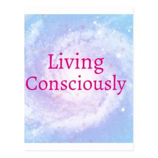 Living Consciously Postcard