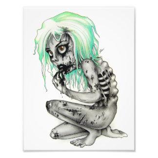 Living Dead Girl Photo Print