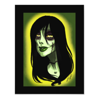 Living dead thing 4.25x5.5 paper invitation card