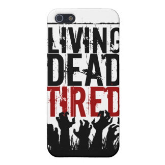 Living Dead Tired iPhone Case
