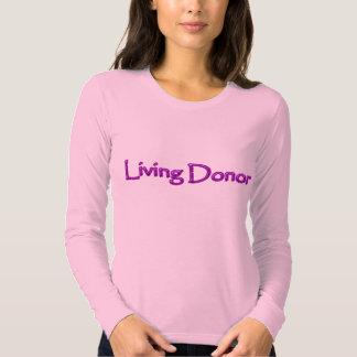 Living Donor - purple Tee Shirt
