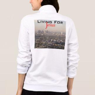 Living For Jesus Printed Jacket