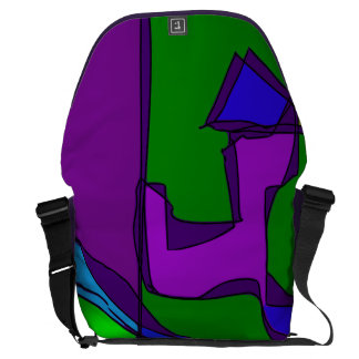 Living Forest Courier Bag