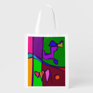 Living Forest Grocery Bag
