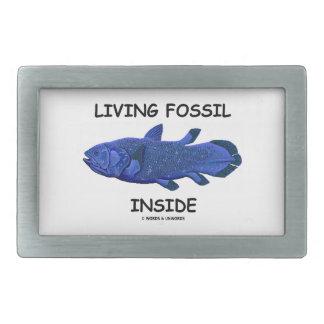 Living Fossil Inside (Coelacanth) Belt Buckle