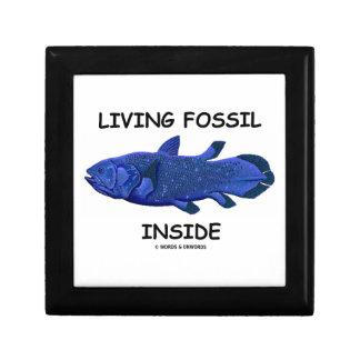 Living Fossil Inside (Coelacanth) Keepsake Box