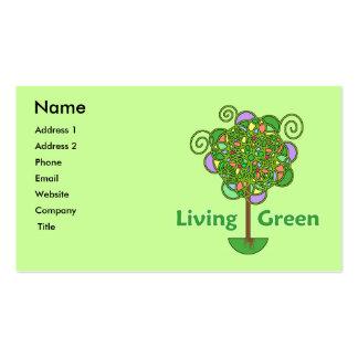 Living Green Business Card