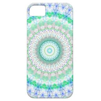 Living Green Mandala kaleidoscope iPhone 5 case