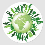 Living Green: Our Green Earth Stickers
