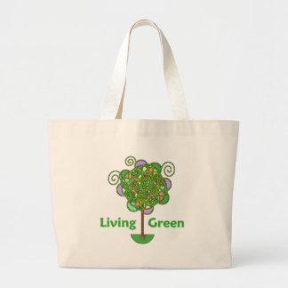 Living Green Tree Canvas Bag