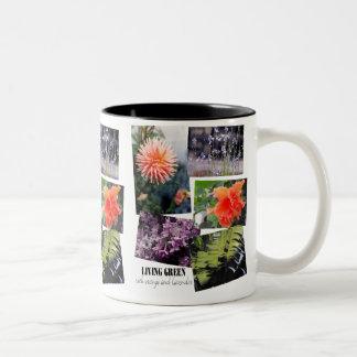 Living Green Two-Tone Coffee Mug