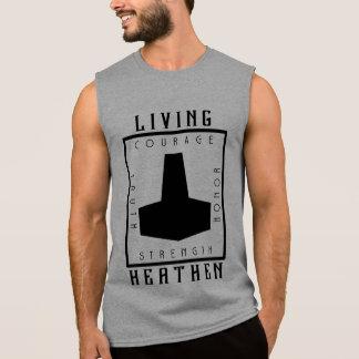 Living Heathen Sleeveless T-Shirt