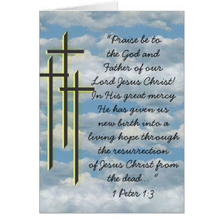 Living Hope Through Crucifiction Card