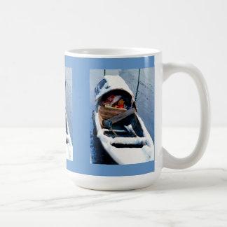 Living in a bumboat coffee mug