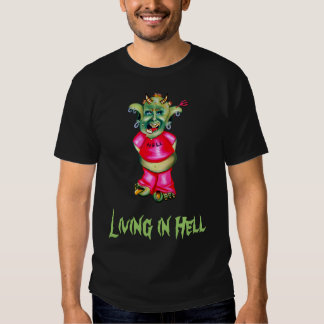 Living in bright shirt