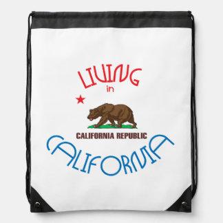 Living in California Cinch Bag