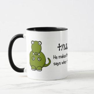 Living in fear of tyrants mug