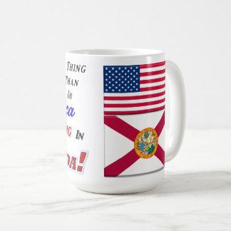 Living In Florida! 15 oz Classic Mug
