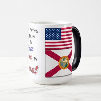 Living In Florida! 15 oz Morphing Mug