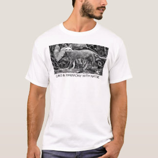 LIVING IN HARMONY WITH NATURE T-Shirt