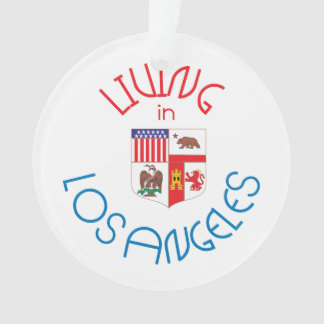 Living in Los Angeles Ornament
