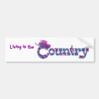 Living in the Country Sticker