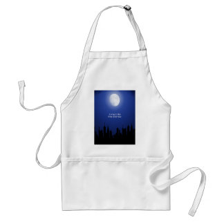 Living in the Here and Now Adult Apron