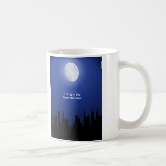 Living in the Here and Now Classic White Coffee Mug