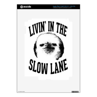 Living In The Slow Lane Skins For iPad 3