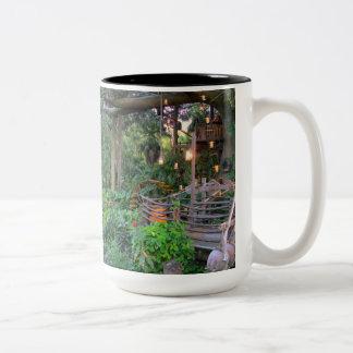 Living in the Trees Two-Tone Coffee Mug