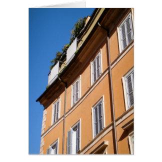 Living in Trastevere Greeting Card