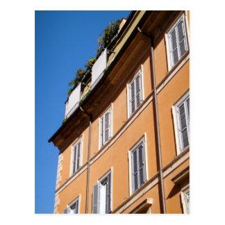 Living in Trastevere Postcard