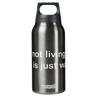 Living Insulated Water Bottle
