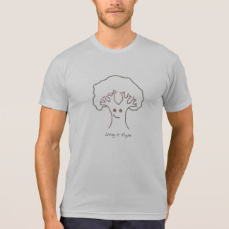 Living it Right Happy Tree Men's Eco-Blend Tee