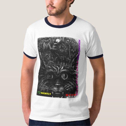 Living it Up Nightly! original E J Hendrix comic T-Shirt