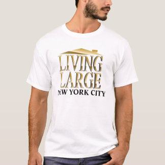 Living Large in Gold - Your City Shirt