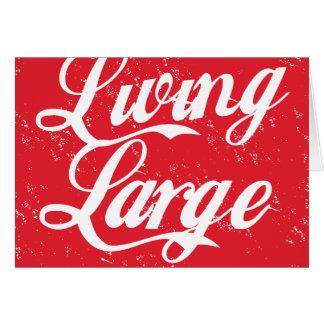 Living Large Pride Card