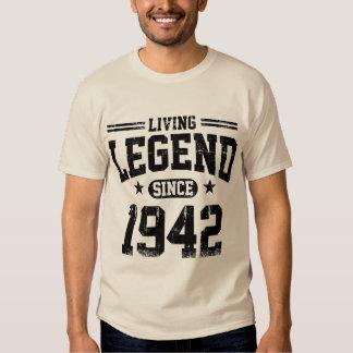 Living Legend Since 1942 Tee Shirt